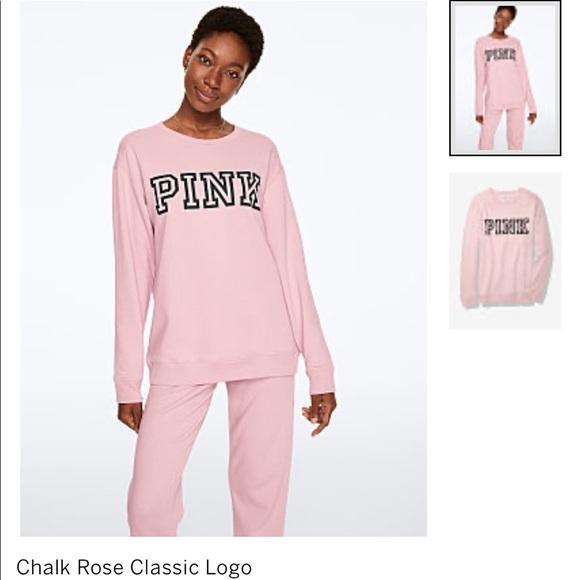 PINK Victoria's Secret Sweaters - Victoria secret pink sweatshirt new!